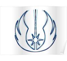 Jedi Order Emblem (Alkali Scheme) Poster