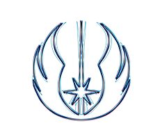 Jedi Order Emblem (Alkali Scheme) Photographic Print