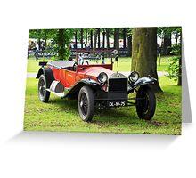Lancia Lambda (1925) Greeting Card