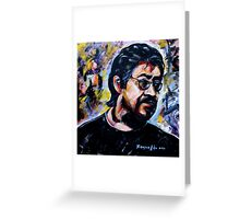 Artist Passion Greeting Card