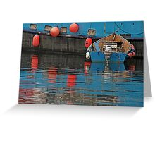 Floating With 30. Greeting Card
