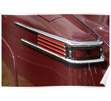 Lincoln Continental Cabriolet tail light (1942) Poster