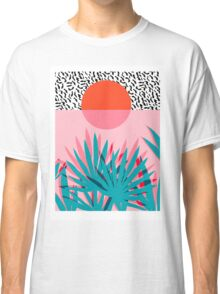 Whoa - palm sunrise southwest california palm beach sun city los angeles hawaii palm springs resort decor Classic T-Shirt
