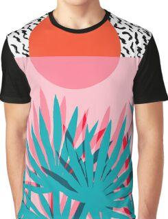 Whoa - palm sunrise southwest california palm beach sun city los angeles hawaii palm springs resort decor Graphic T-Shirt