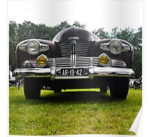 Lincoln Continental Cabriolet front (1942) Poster