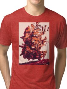 Howl's Moving Castle Tri-blend T-Shirt
