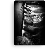 The Weir Canvas Print