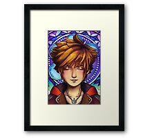 Sora - Mosaic Framed Print