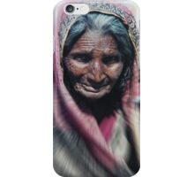 Aged beauty zoom burst iPhone Case/Skin