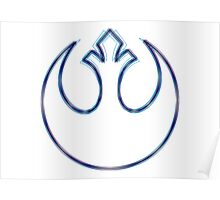 Rebel Alliance Emblem (Alkali Scheme) Poster