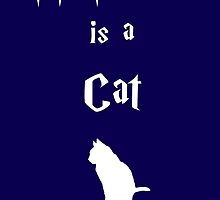 My Patronus is a Cat by OuroborosEnt