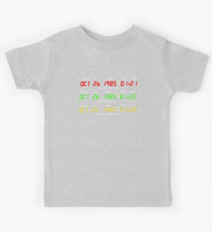 Time Circuits Kids Tee