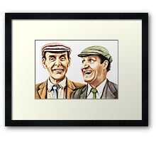 Eric and Tommy - The Plank Framed Print