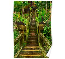 """Stairway In Paradise"" Poster"