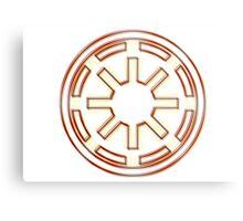 Galactic Republic Emblem (Acid Scheme) Metal Print