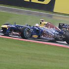 Sebastian Vettel - Red Bull Racing RB8 by MSport-Images
