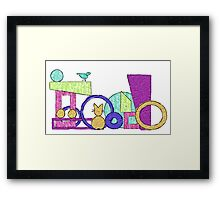 The Cat and the Bird Framed Print