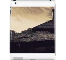 Autumn of the Patriarch. Two. Roofs iPad Case/Skin