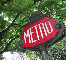 Paris: Metro by David Mapletoft