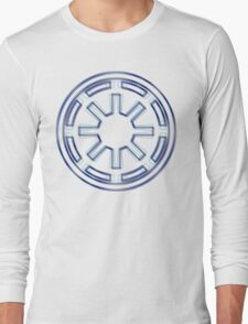 Galactic Republic Emblem (Alkali Scheme) Long Sleeve T-Shirt