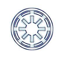 Galactic Republic Emblem (Alkali Scheme) Photographic Print