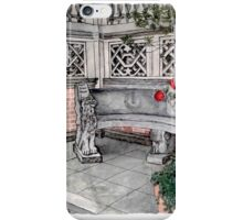 Beautiful Stone Bench iPhone Case/Skin