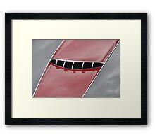 Maserati 2000 Gran Sport Spyder hood (1957) Framed Print
