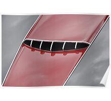Maserati 2000 Gran Sport Spyder hood (1957) Poster