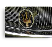 Maserati 2000 Gran Sport Spyder (1957) Canvas Print