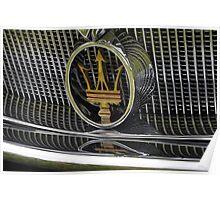 Maserati 2000 Gran Sport Spyder (1957) Poster