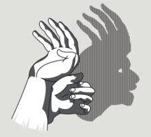 HandShadow - Indian Head by AnnoNiem
