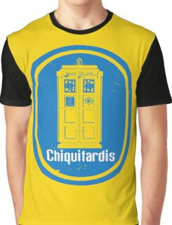 """""""Chiquitardis"""" Troubleless And Rapid (banana) Delivery In Space Graphic T-Shirt"""
