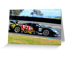 Tony Quinn #11   Shannons Nationals   Round 5, 2012 Greeting Card