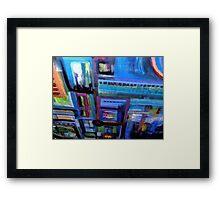 un-building blocks Framed Print