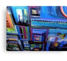 un-building blocks Canvas Print