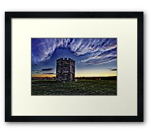 Lookout tower Framed Print