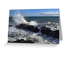 Reef at Hallett Cove Greeting Card
