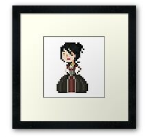 Pixel Morrigan - Dragon Age Framed Print