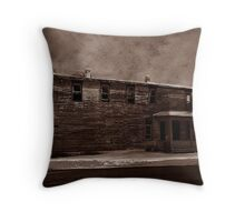 Storm of 1888 Throw Pillow