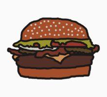 Badly Drawn Burger One Piece - Short Sleeve