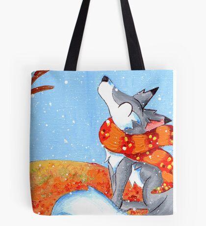 November Snowfall Tote Bag