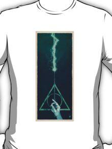 The three Hallows: Lord Voldemort's avada kedavra T-Shirt