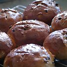 Easter Buns by Gabrielle Battersby
