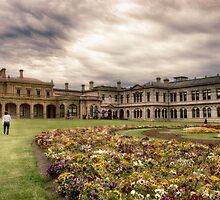 Werribee Mansion  by Kim Andelkovic