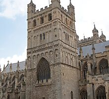 Exeter Cathedral, Exeter, Devon. by Keith Larby
