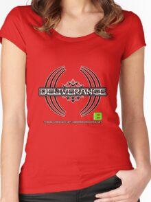 Deliverance 2012 11 dark merkaba - thedeliveranch.net Women's Fitted Scoop T-Shirt