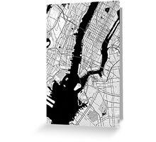 New York Toner Poster Greeting Card