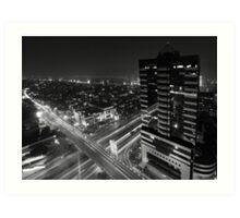 Midnight in Jakarta Art Print