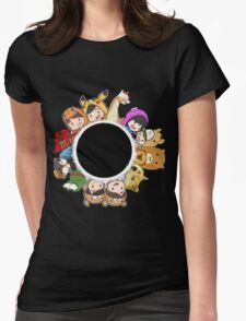Phandom Womens Fitted T-Shirt