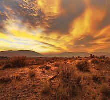 Western Sunset by SB  Sullivan
